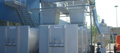 Central waste extraction systems